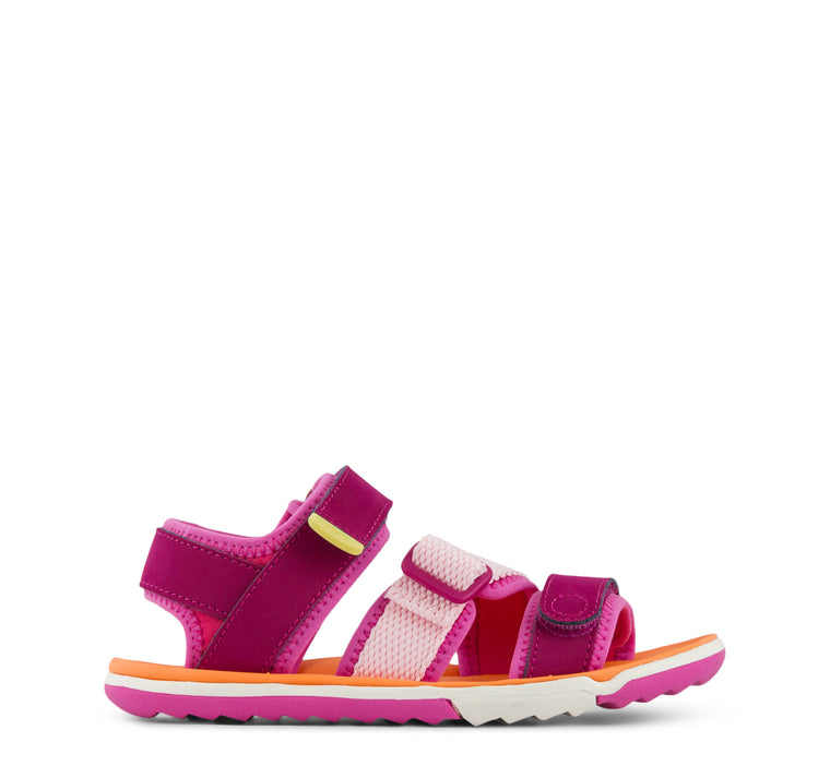 Plae Wes Girls Sandal in Hibiscus