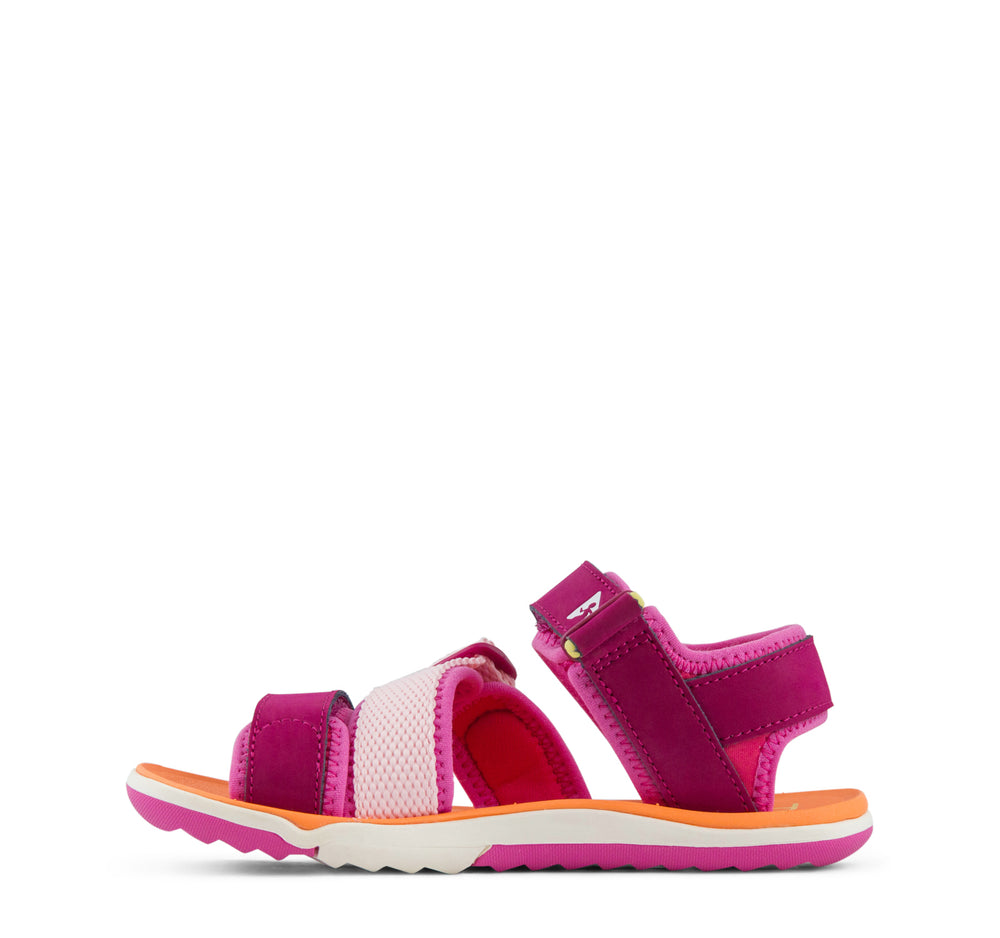 Plae Wes Sandal in Hibiscus - Plae - On The EDGE