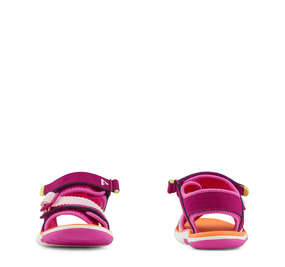 Plae Wes Sandal Girls - Hibiscus - Plae - On The EDGE