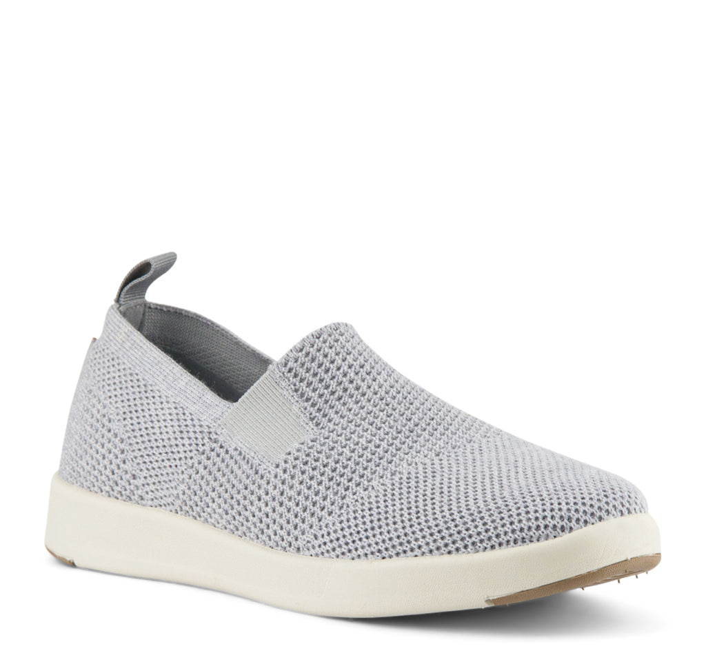 Woolloomooloo Baaarbara Slip-On in Grey - Woolloomooloo - On The EDGE