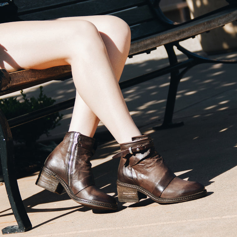 A.S.98 Yaron Women's Boot in Brown - A.S. 98 - On The EDGE