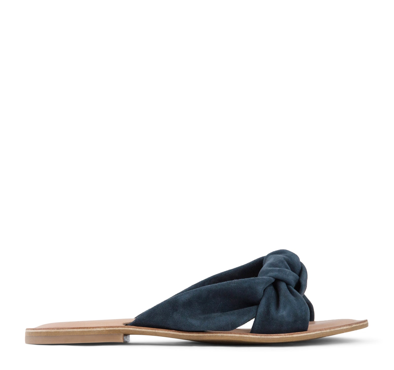 Jeffrey Campbell Zocalo Slide Sandal Women's - Navy Suede - Jeffrey Campbell - On The EDGE