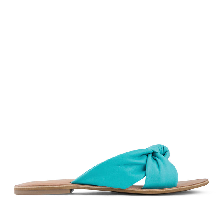 Jeffrey Campbell Zocalo Slide Sandal Women's - Teal