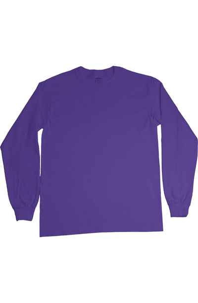 Breast Stroke LS Purple