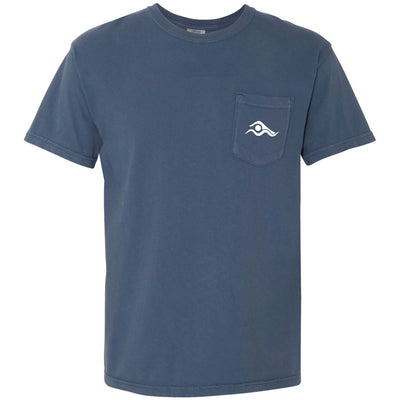 2020 USA Swimming Pocket T-Shirt - SwimWithIssues Swim Shirts, Suits and t-shirts.