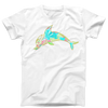Floral Dolphin T-Shirt
