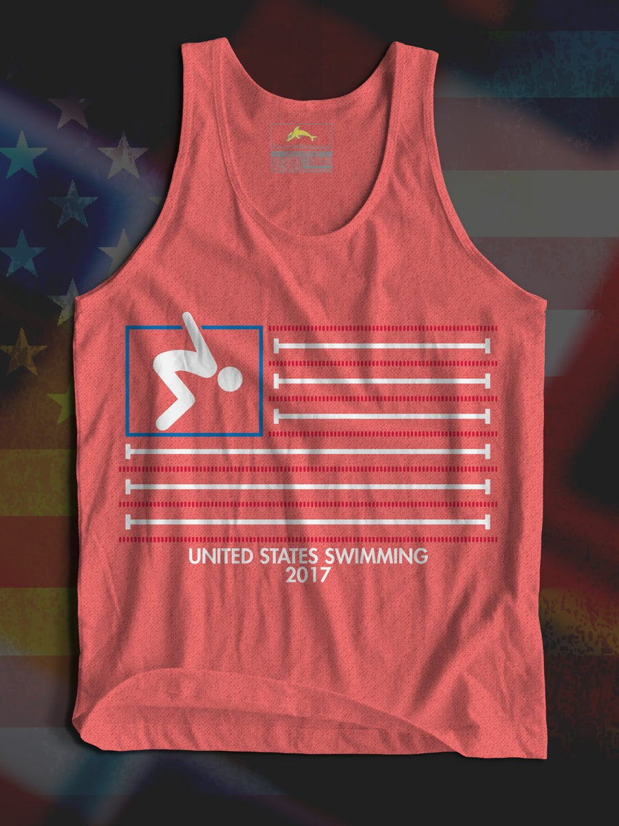 Swim Flag Tank (Triblend)