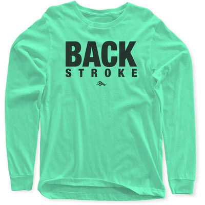 Backstroke Long Sleeves - SwimWithIssues Swim Shirts, Suits and t-shirts.