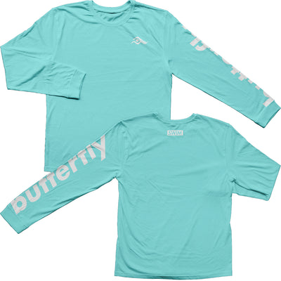 Butterfly Stroke Tees (Comfort Colors) - SwimWithIssues Swim Shirts, Suits and t-shirts.