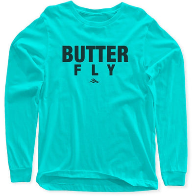Butterfly Long Sleeves - SwimWithIssues Swim Shirts, Suits and t-shirts.