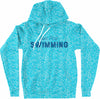 Cosmic Just Keep Swimming Hoodie (Womens) - SwimWithIssues Swim Shirts, Suits and t-shirts.