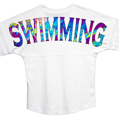 Cosmic Swimming Jersey - SwimWithIssues Swim Shirts, Suits and t-shirts.