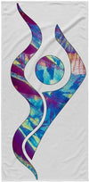 Cosmic Swimmer Towel - SwimWithIssues Swim Shirts, Suits and t-shirts.