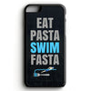 Eat Pasta, Swim Fasta iPhone Tough Case - SwimWithIssues Swim Shirts, Suits and t-shirts.