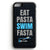 Eat Pasta, Swim Fasta iPhone Tough Case