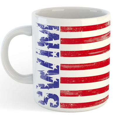 Freedom Swim Coffee Mug - SwimWithIssues Swim Shirts, Suits and t-shirts.