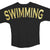 Black & Gold Swim Jersey - Limited Edition