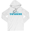 Just Keep Swimming Hooded T-Shirt - SwimWithIssues Swim Shirts, Suits and t-shirts.