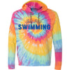 Tie-Dye Just Keep Swimming Hooded T-Shirt