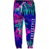 Floral Stroke Joggers - SwimWithIssues Swim Shirts, Suits and t-shirts.