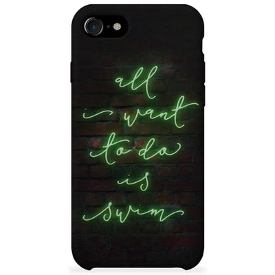 Neon Sign Phone Case - SwimWithIssues Swim Shirts, Suits and t-shirts.
