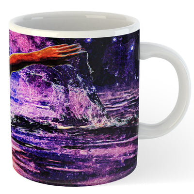 Night Sky Coffee Mug - SwimWithIssues Swim Shirts, Suits and t-shirts.