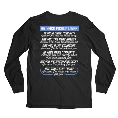 Pickup Lines Long Sleeved