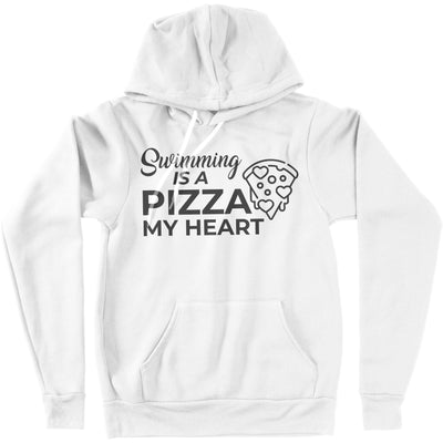 Swimming is a Pizza My Heart Hoodie