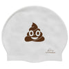 Poo Emoji Swim Cap - SwimWithIssues Swim Shirts, Suits and t-shirts.