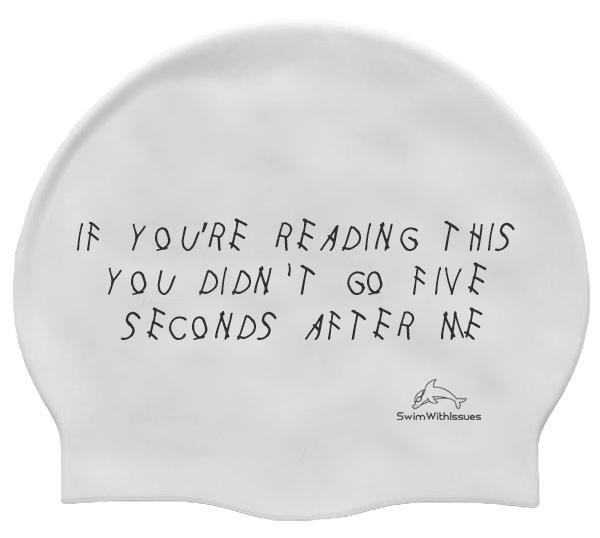 If you're Reading This... Silicone Swim Cap
