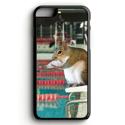 Relay Squirrel iPhone Tough Case - SwimWithIssues Swim Shirts, Suits and t-shirts.