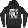 Straight Outta the Pool Hoodie - SwimWithIssues Swim Shirts, Suits and t-shirts.