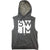 SWIM Block Sleeveless Hoodie