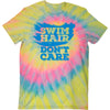 Swim Hair, Don't Care Tie-Dye T-Shirt - SwimWithIssues Swim Shirts, Suits and t-shirts.