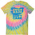 Swim Hair, Don't Care Tie-Dye T-Shirt