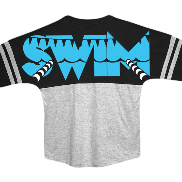 'SWIM' Graphic Jersey