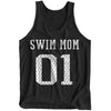 #1 Swim Mom Tank - SwimWithIssues Swim Shirts, Suits and t-shirts.