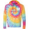 Swim Mom Hooded T-Shirt - Tie-Dye - SwimWithIssues Swim Shirts, Suits and t-shirts.