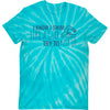 Swim Like A Girl T-Shirt - Tie-Dye