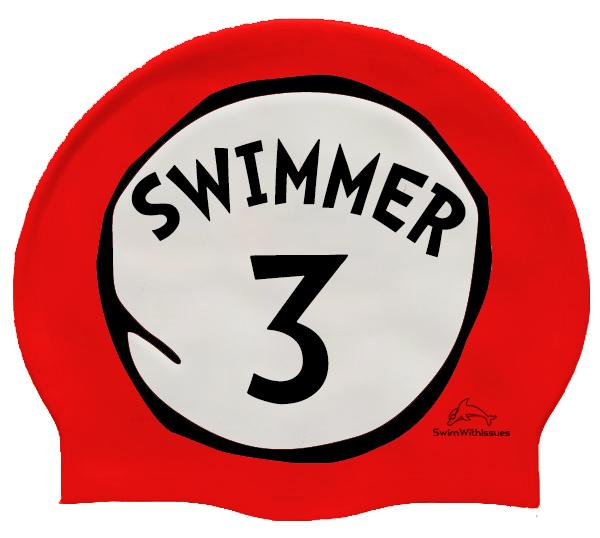 Swimmer 3 Swim Cap