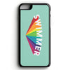 Rainbow Swimmer iPhone Case - SwimWithIssues Swim Shirts, Suits and t-shirts.