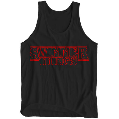 Swimmer Things Tank-Top - SwimWithIssues Swim Shirts, Suits and t-shirts.