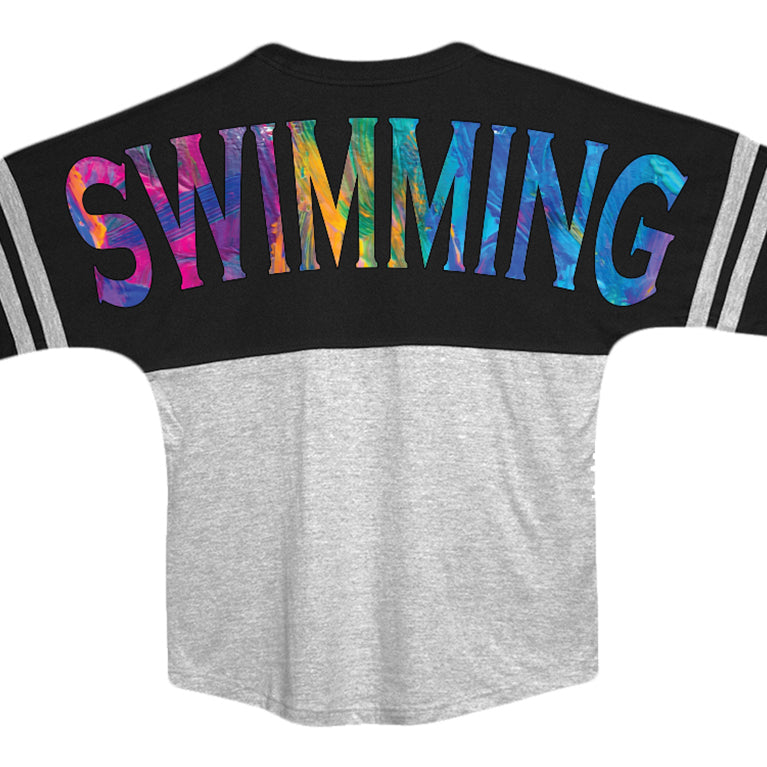 fc357326 Watercolor Swim Jersey - SwimWithIssues