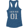 #1 Swim Mom (Racerback Tank)