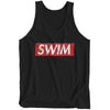 """Swimpreme"" Black Tank"