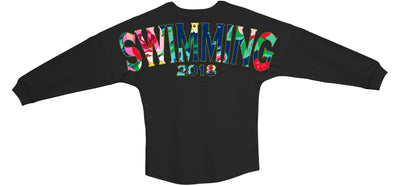 Floral Swim Jersey 2018 - Limited Edition - SwimWithIssues Swim Shirts, Suits and t-shirts.