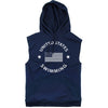 United States Swimming Sleeveless Hoodie