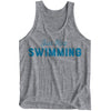 Just Keep Swimming Tank - Youth - SwimWithIssues Swim Shirts, Suits and t-shirts.
