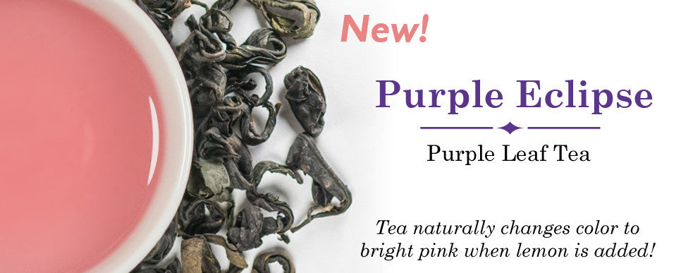 Try our new purple leaf tea!