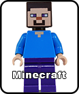 Minecraft minifigures and accessories.